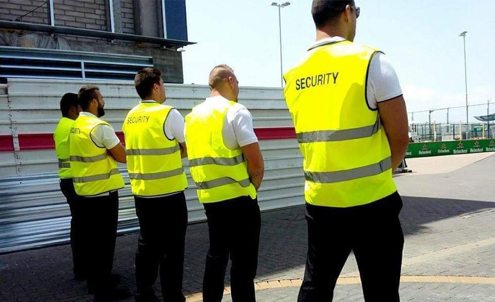 Seguridad en eventos